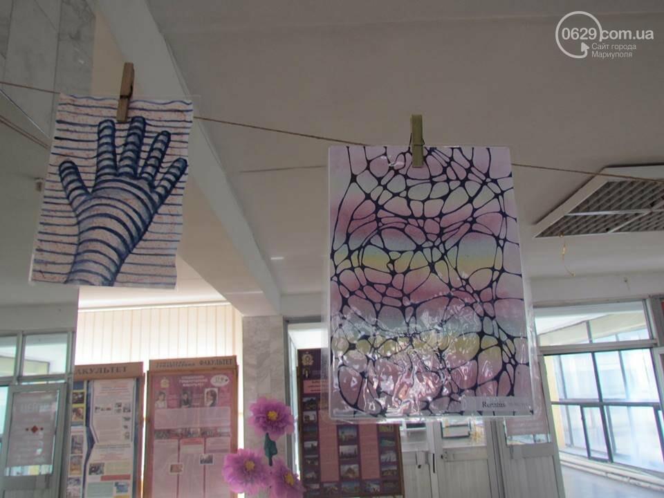 Мариупольский школьник нарисовал картины, чтобы помочь ребенку с аутизмом (ФОТО), фото-9