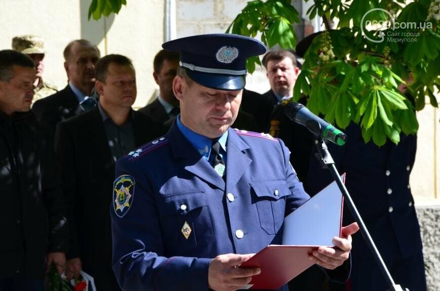 """В Мариуполе открывали памятник Лунину, устанавливали мемориальную доску памяти погибших милиционеров и освобождали горсовет от """"ополченцев..., фото-15"""