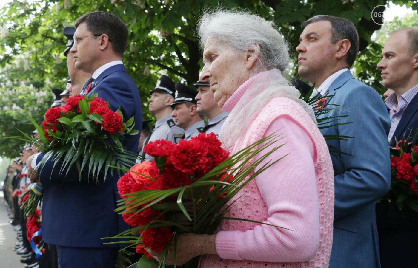 В Мариуполе почтили память патриотов, погибших 9 мая 2014 года  (ФОТОРЕПОРТАЖ+ВИДЕО), фото-25