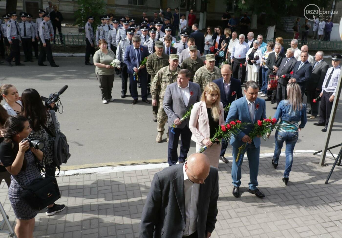 В Мариуполе почтили память патриотов, погибших 9 мая 2014 года  (ФОТОРЕПОРТАЖ+ВИДЕО), фото-28