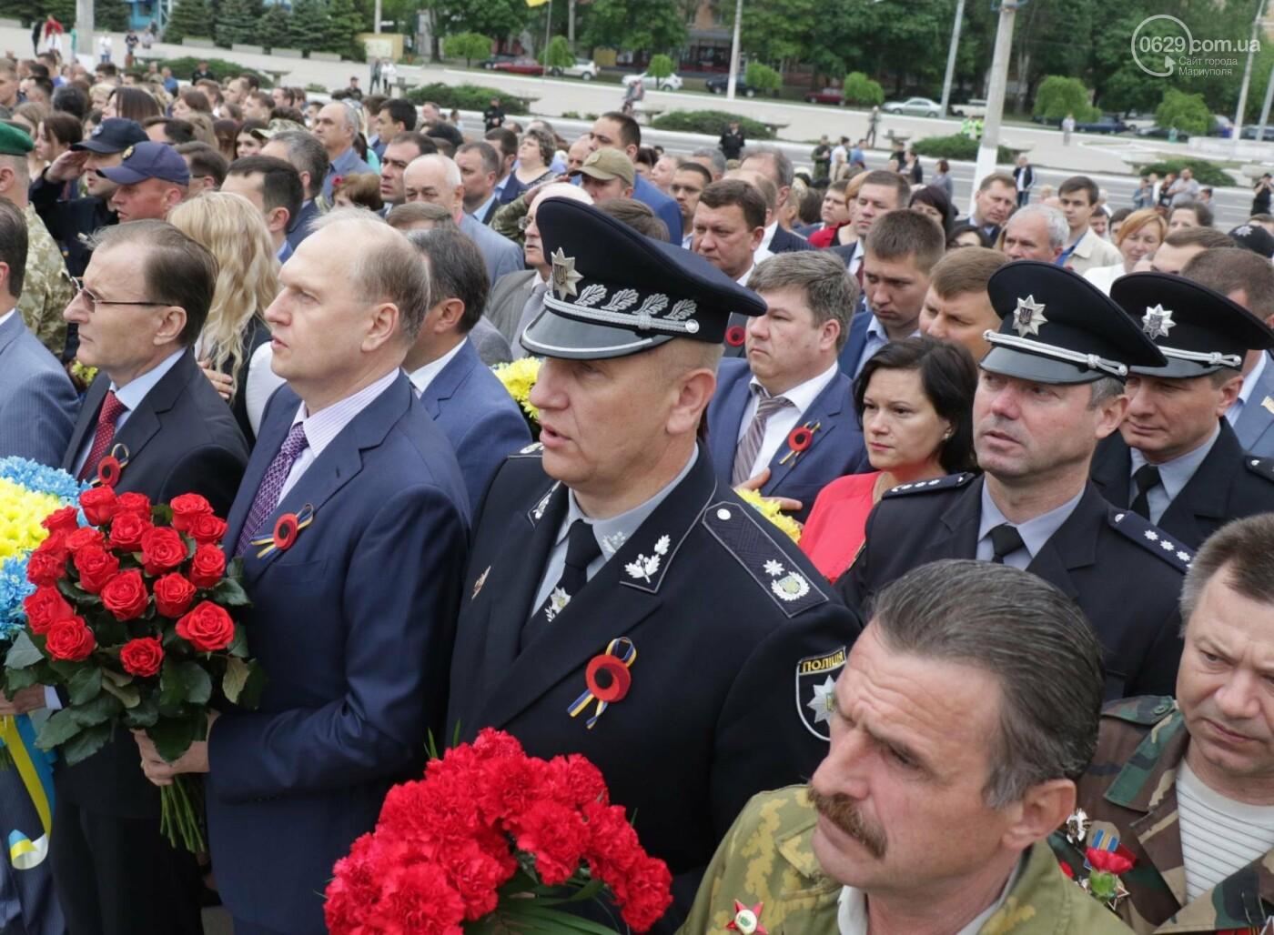 Как в  Мариуполе отметили 73-ю годовщину Победы, - ФОТО, ВИДЕО, фото-22