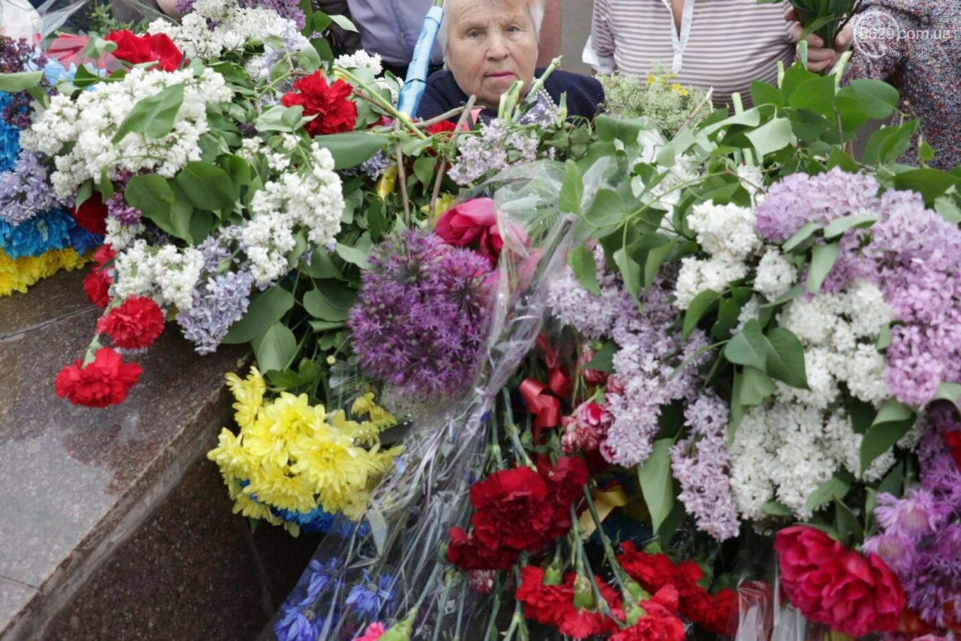 Как в  Мариуполе отметили 73-ю годовщину Победы, - ФОТО, ВИДЕО, фото-20