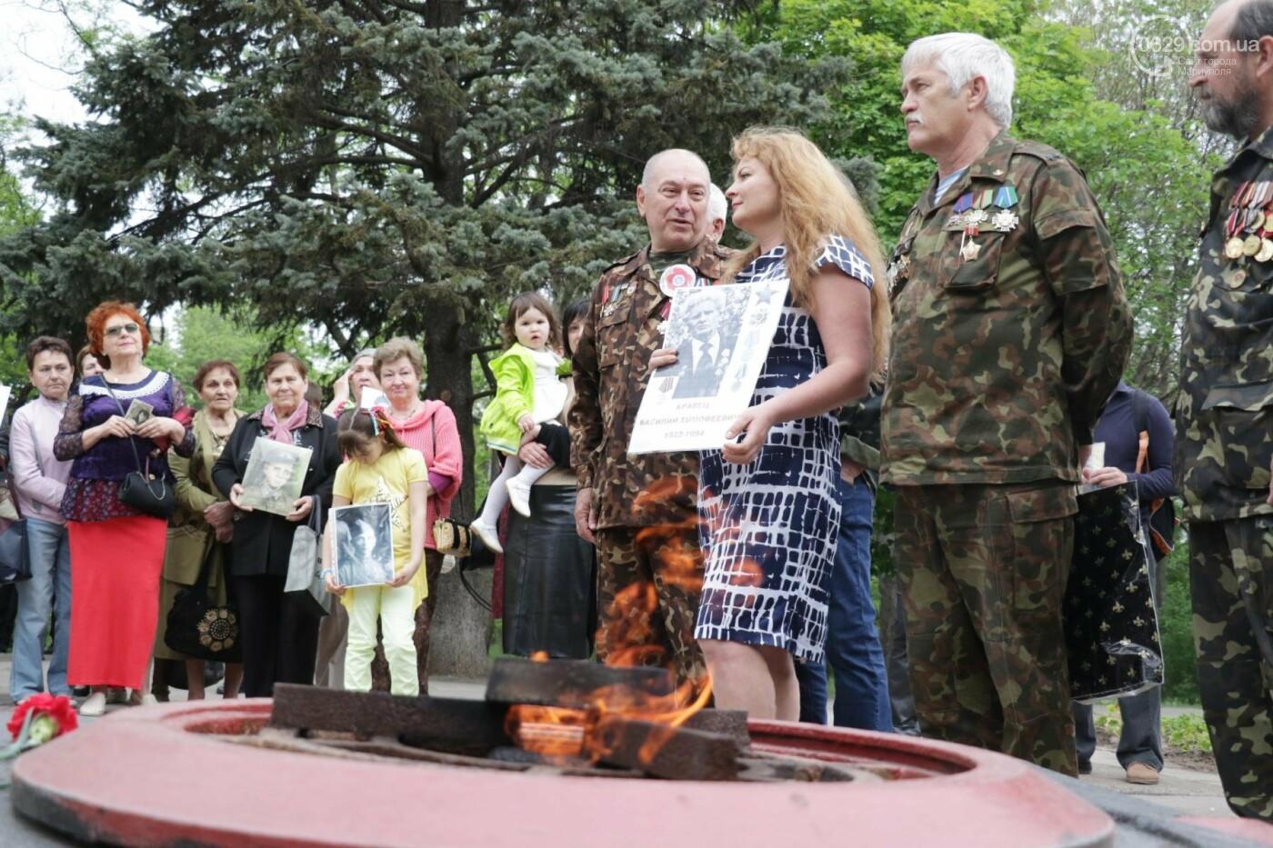 Как в  Мариуполе отметили 73-ю годовщину Победы, - ФОТО, ВИДЕО, фото-18