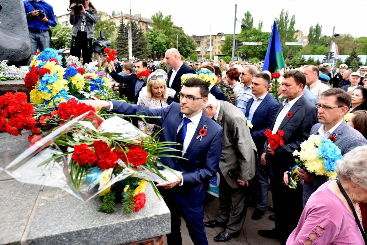 Мариупольская организация политической партии «ОСНОВА» поздравила с Днем Победы, фото-2
