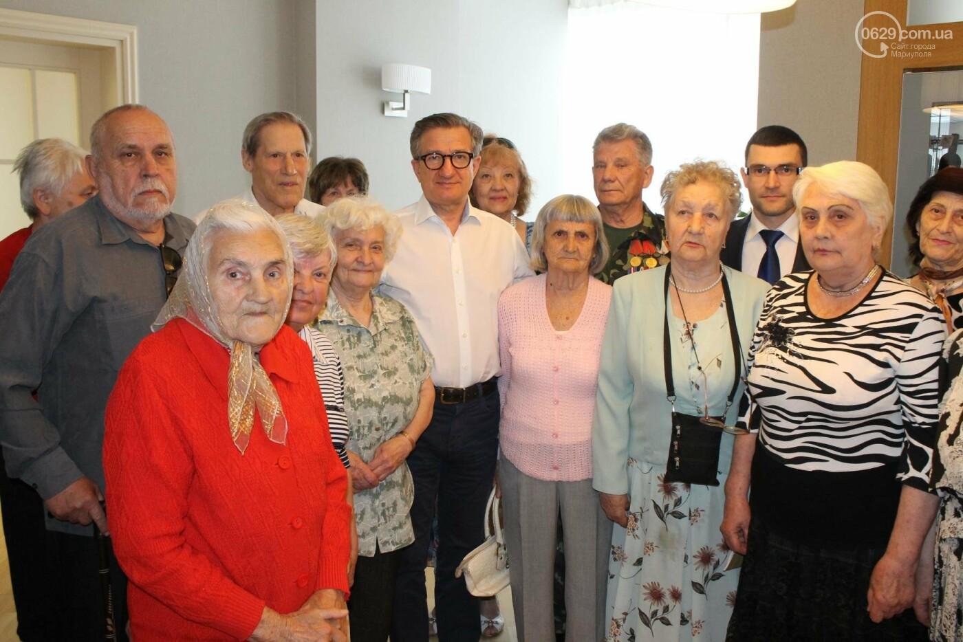 Мариупольская организация политической партии «ОСНОВА» поздравила с Днем Победы, фото-1