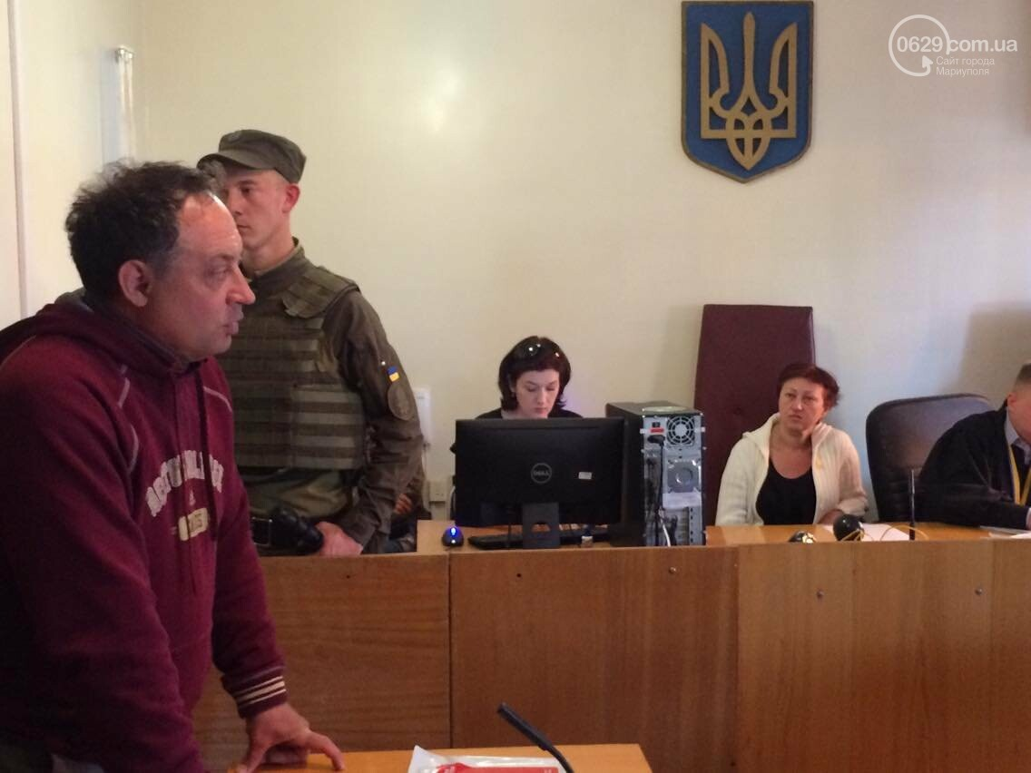 Обвиняемым в захвате Мариупольского ГУВД  9 мая 2014 года продлили содержание под стражей, - ФОТО, ВИДЕО, фото-3