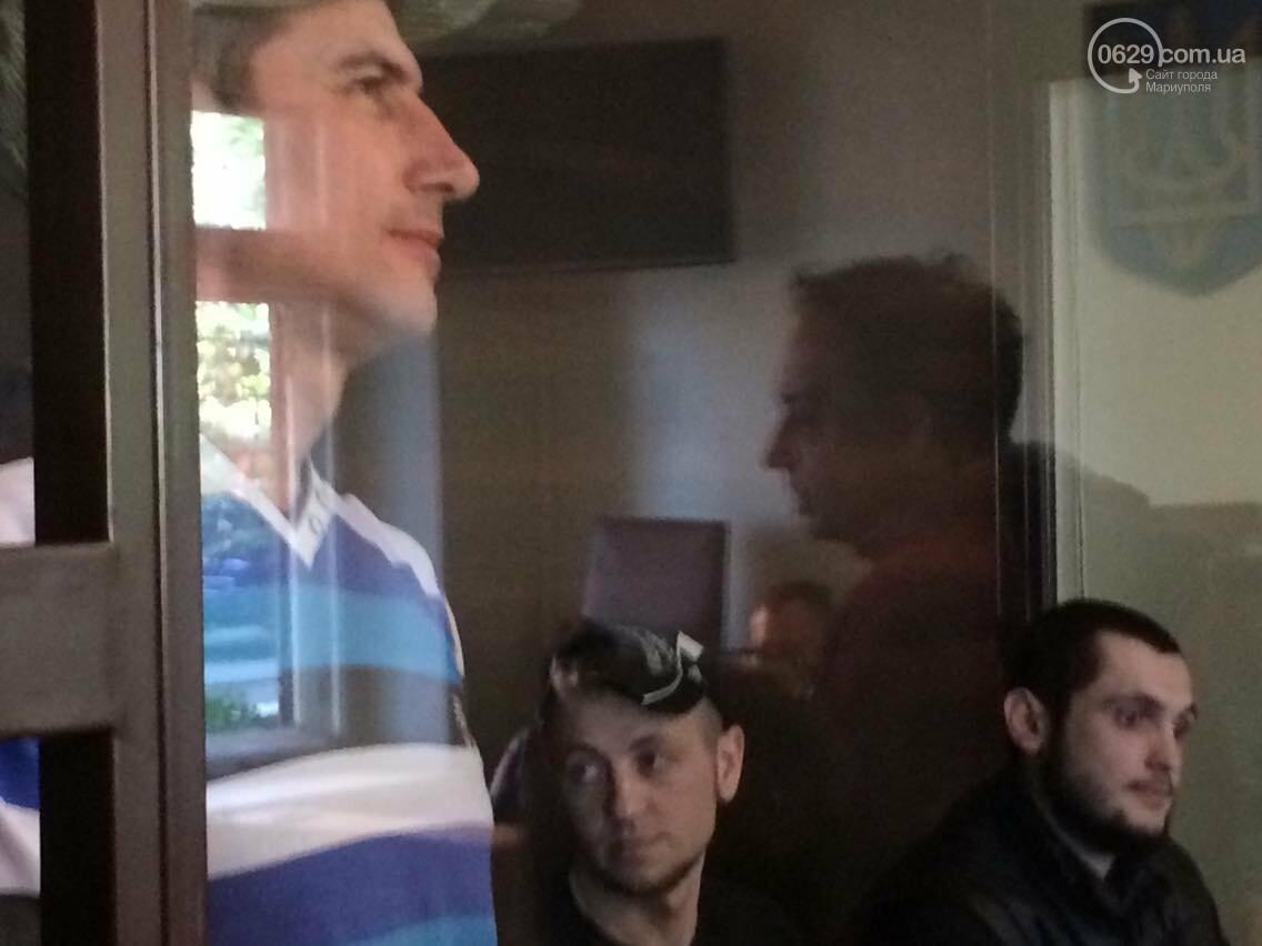 Обвиняемым в захвате Мариупольского ГУВД  9 мая 2014 года продлили содержание под стражей, - ФОТО, ВИДЕО, фото-5