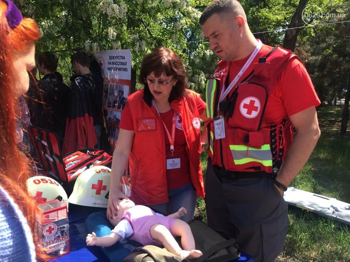 Красный Крест  показал мариупольцам основные направления своей деятельности (ФОТО, ВИДЕО), фото-14