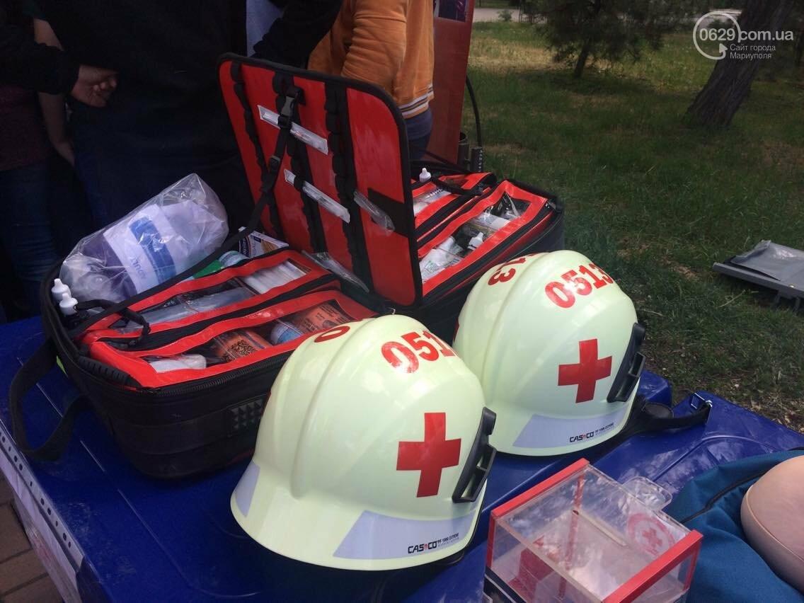 Красный Крест  показал мариупольцам основные направления своей деятельности (ФОТО, ВИДЕО), фото-8