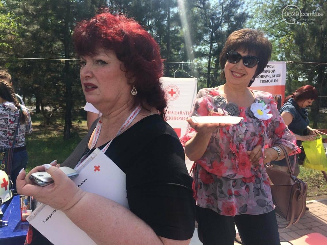 Красный Крест  показал мариупольцам основные направления своей деятельности (ФОТО, ВИДЕО), фото-9