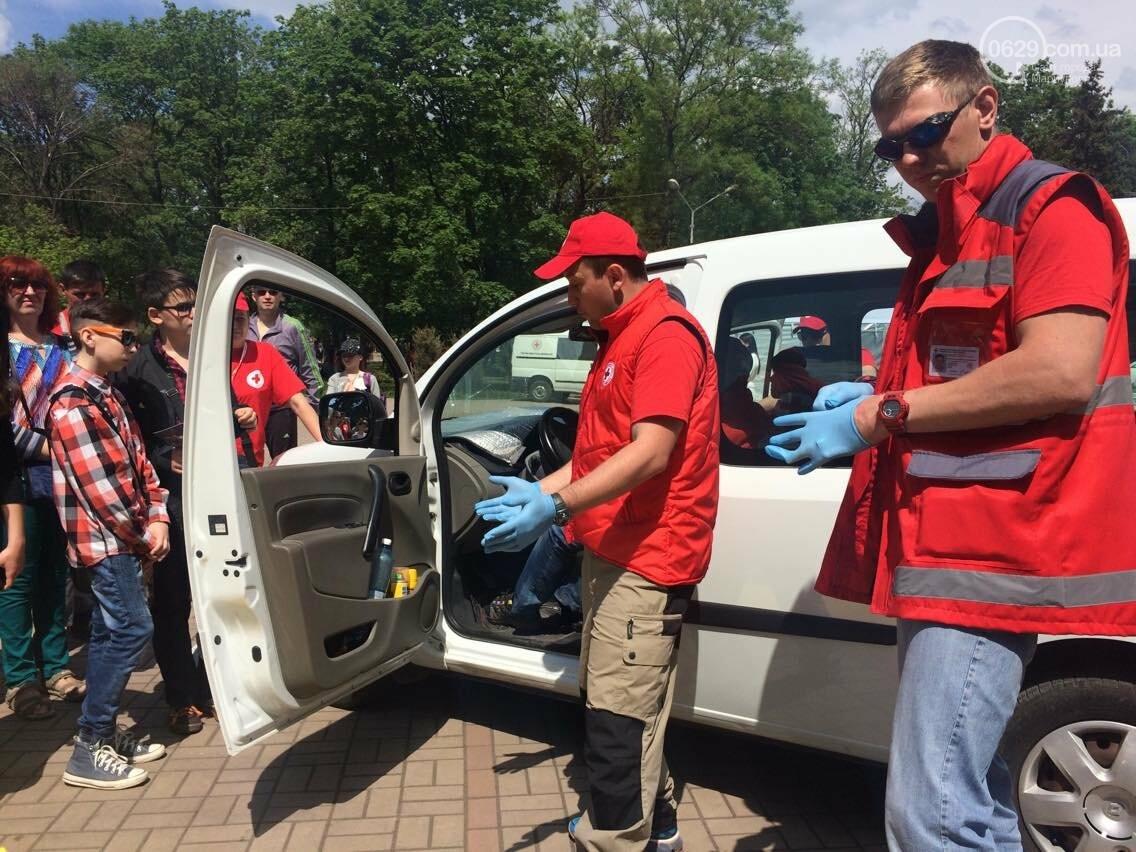 Красный Крест  показал мариупольцам основные направления своей деятельности (ФОТО, ВИДЕО), фото-13
