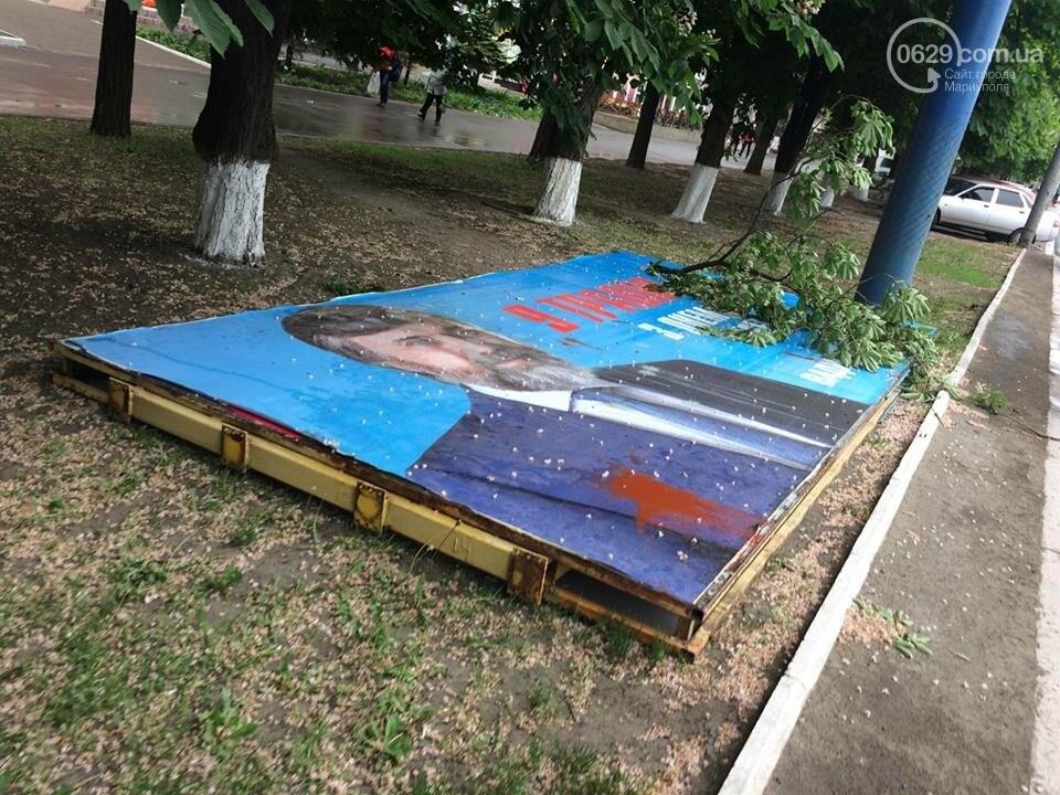 В Мариуполе демонтируют билборды, - ФОТОФАКТ, фото-6