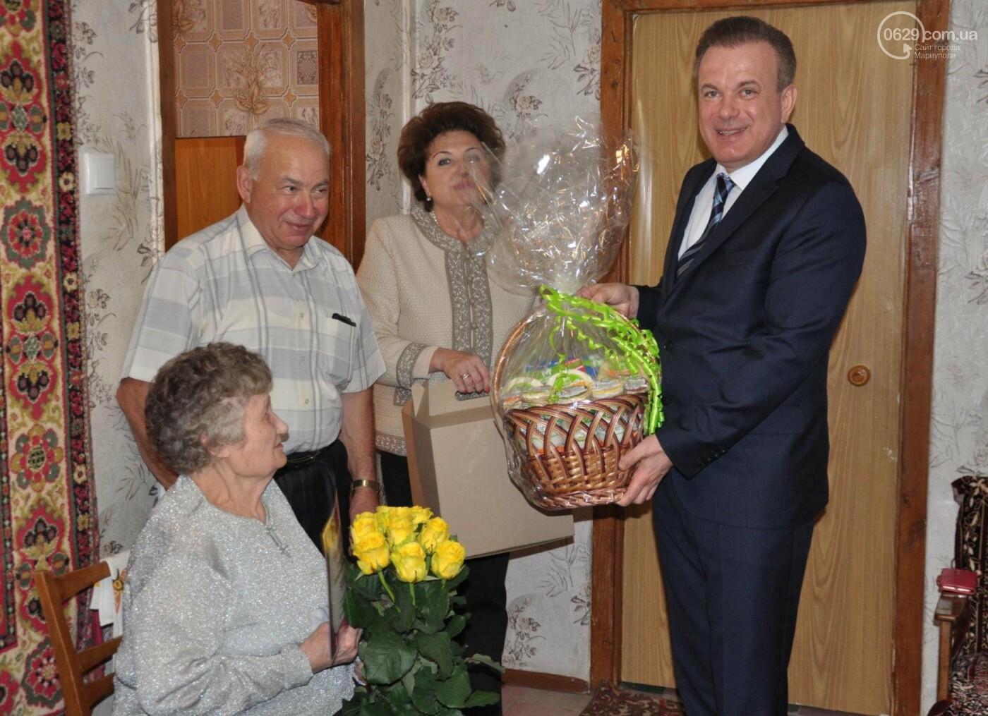 Героя труда Мариупольского молокозавода поздравили с 87-летием, фото-3