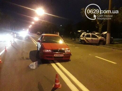 В Мариуполе ищут очевидцев ДТП, в котором пострадали патрульные полицейские, фото-2