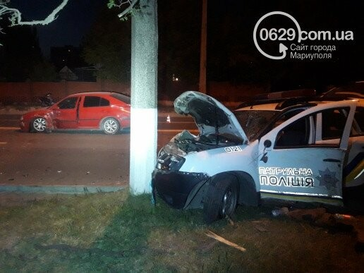 В Мариуполе ищут очевидцев ДТП, в котором пострадали патрульные полицейские, фото-3