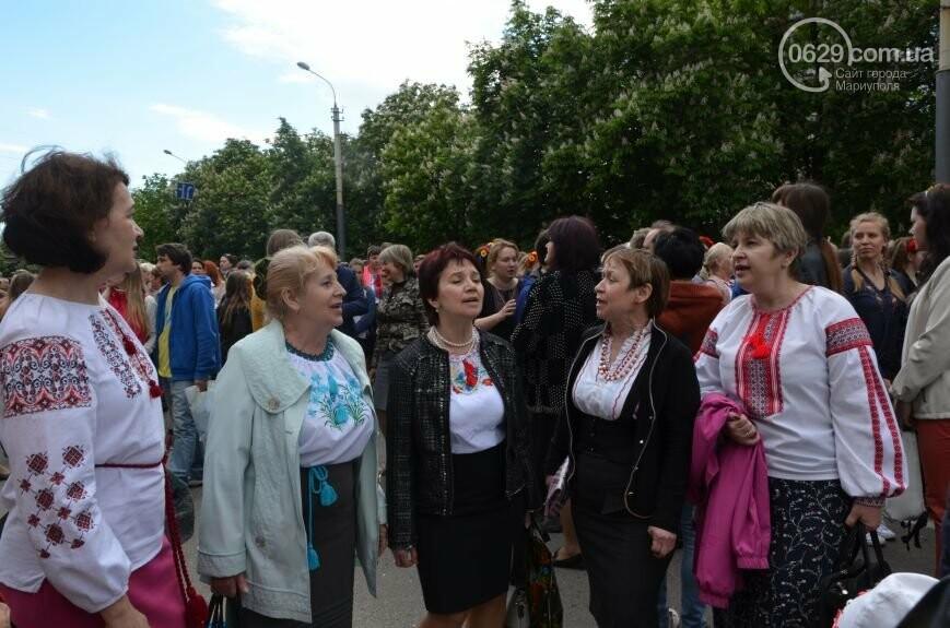 Парад вышиванок, террорист Чечен в Мариуполе и переименование улицы Георгиевской.  О чем писал 0629.com.ua 18 мая, фото-12