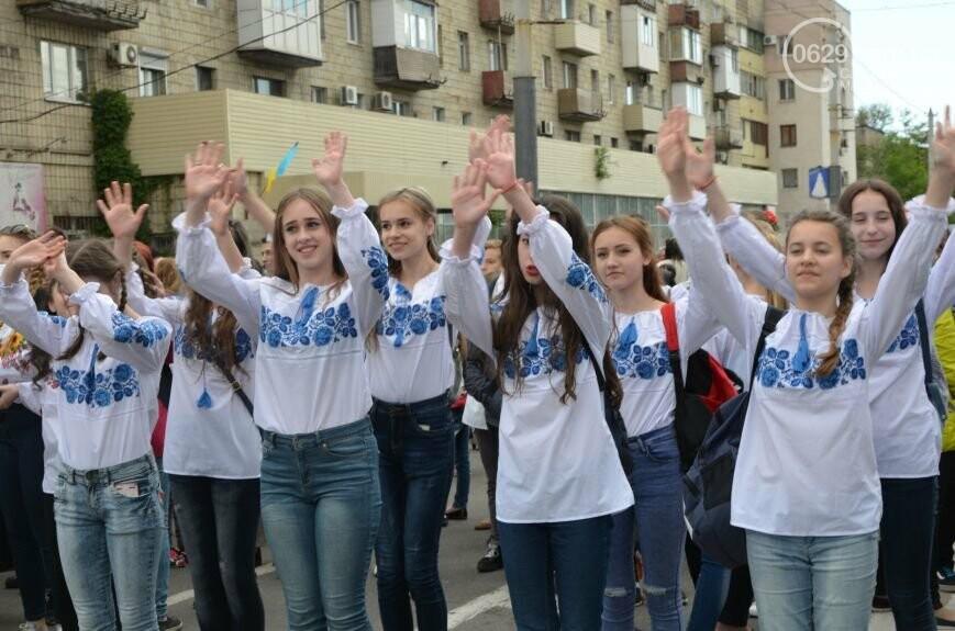 Парад вышиванок, террорист Чечен в Мариуполе и переименование улицы Георгиевской.  О чем писал 0629.com.ua 18 мая, фото-6