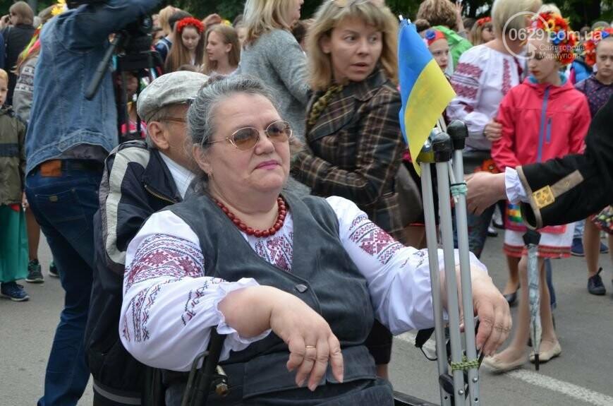 Парад вышиванок, террорист Чечен в Мариуполе и переименование улицы Георгиевской.  О чем писал 0629.com.ua 18 мая, фото-9
