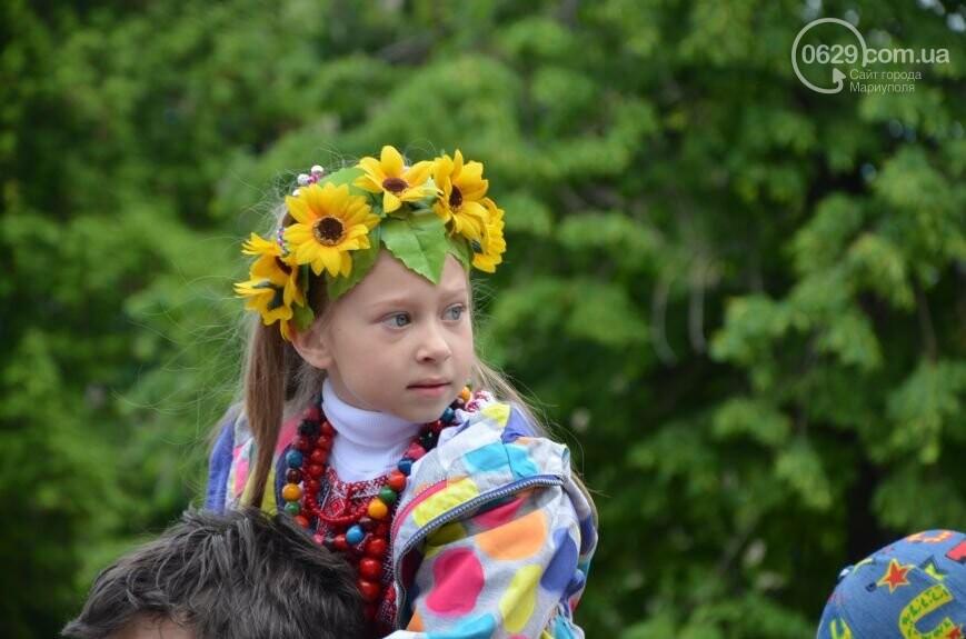 Парад вышиванок, террорист Чечен в Мариуполе и переименование улицы Георгиевской.  О чем писал 0629.com.ua 18 мая, фото-2