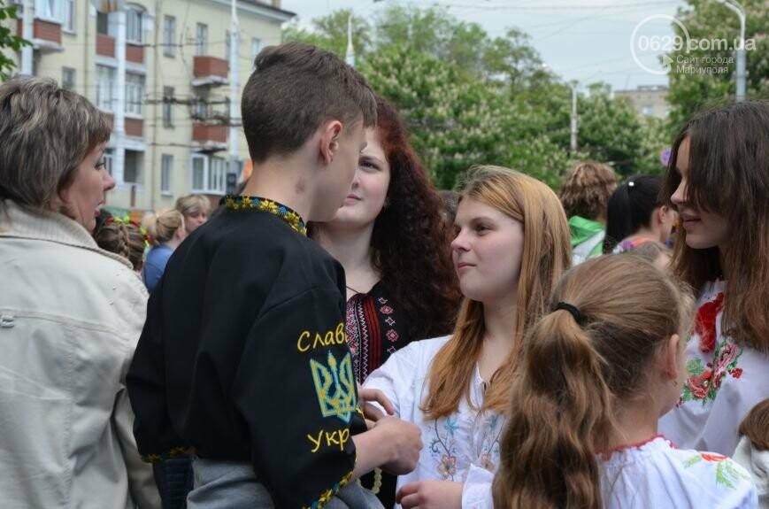 Парад вышиванок, террорист Чечен в Мариуполе и переименование улицы Георгиевской.  О чем писал 0629.com.ua 18 мая, фото-8