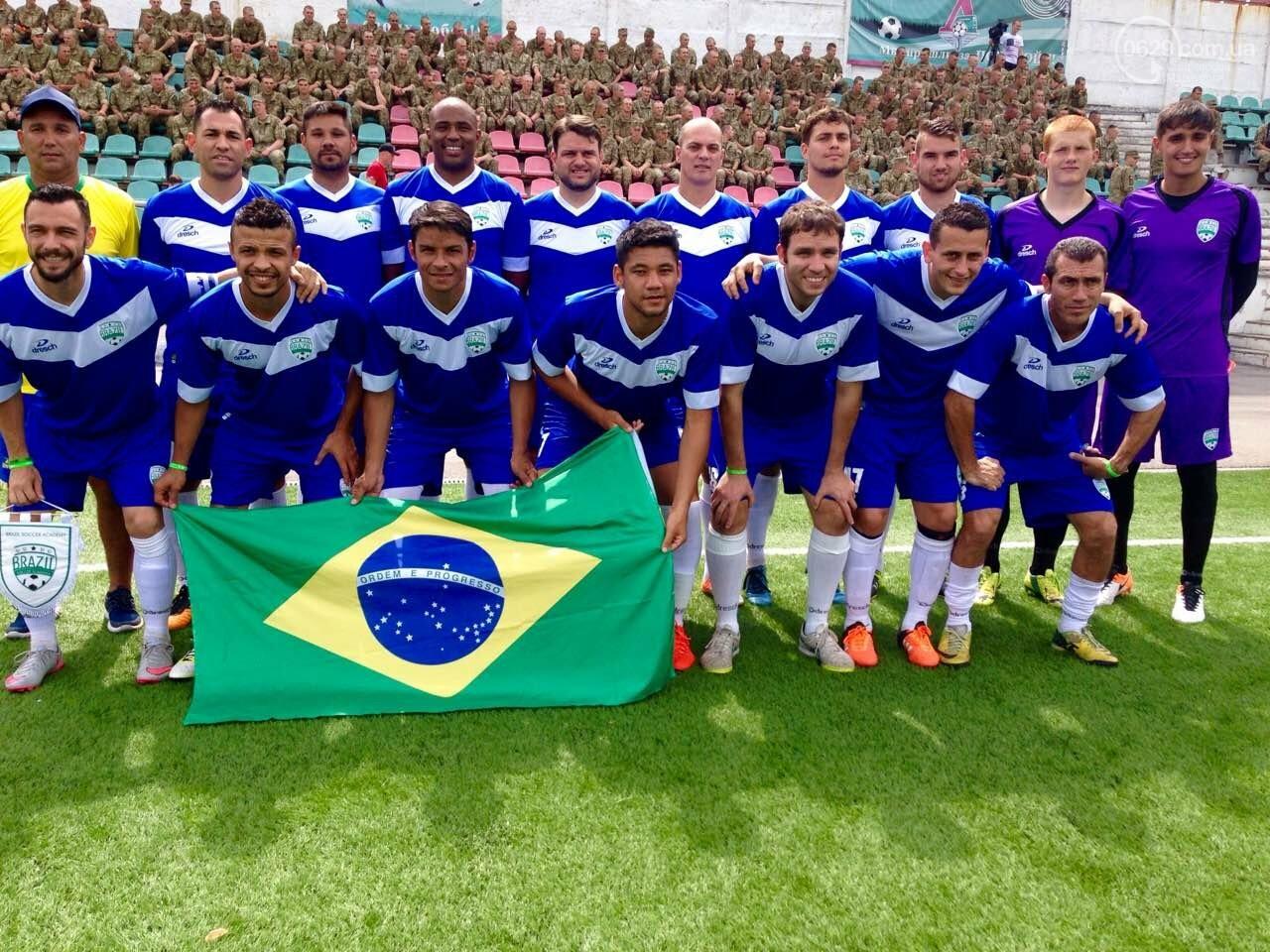 Играйте в футбол с Бразильскими футболистами в Мариуполе, фото-4
