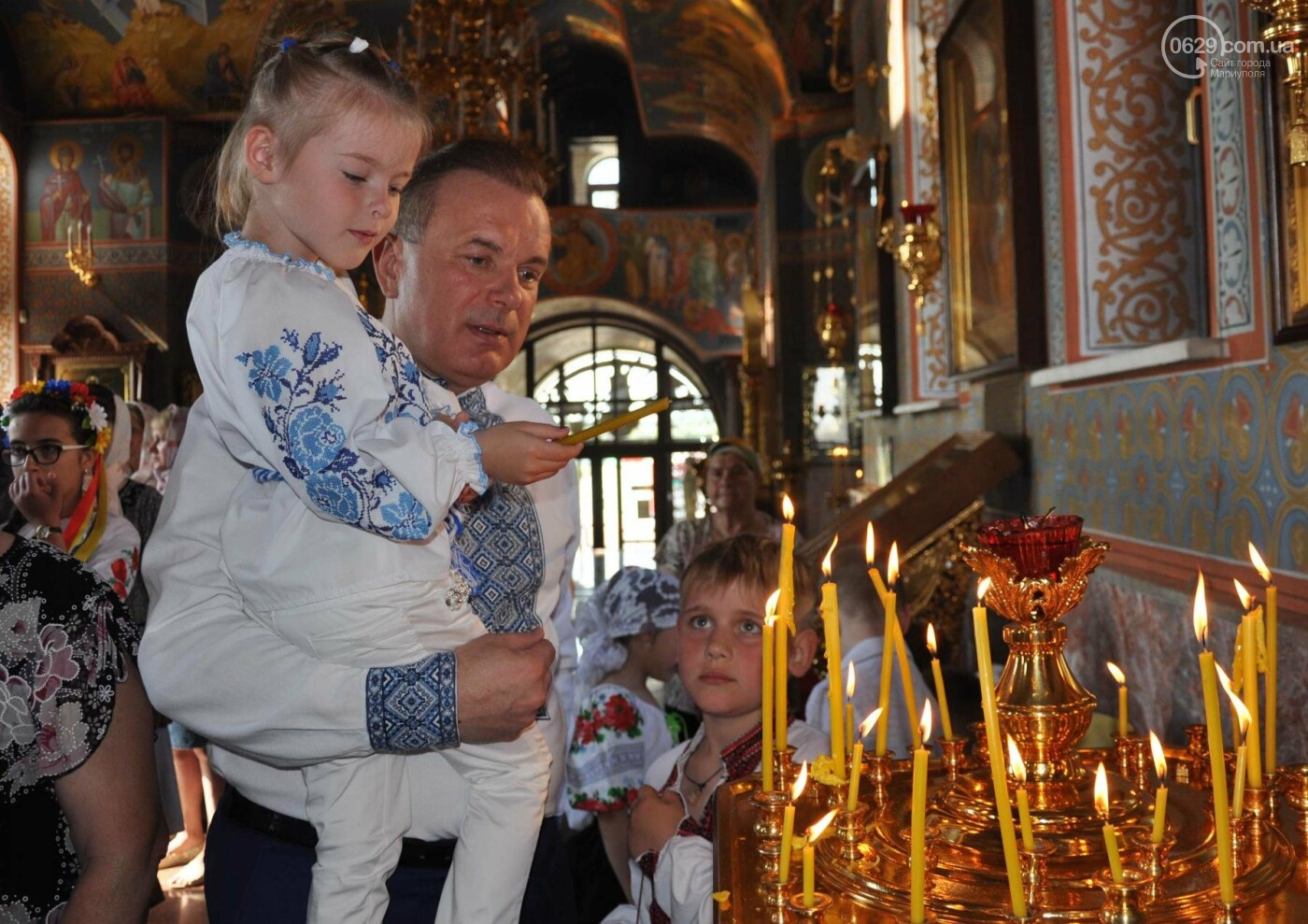 Праздник Вознесения и День вышиванки объединили прихожан в Свято-Покровском храме с.Боевое, фото-21