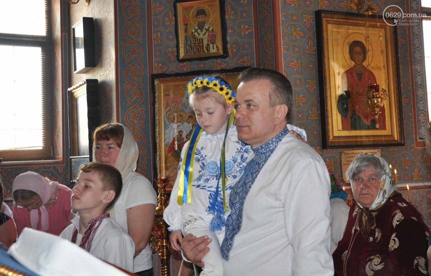 Праздник Вознесения и День вышиванки объединили прихожан в Свято-Покровском храме с.Боевое, фото-24