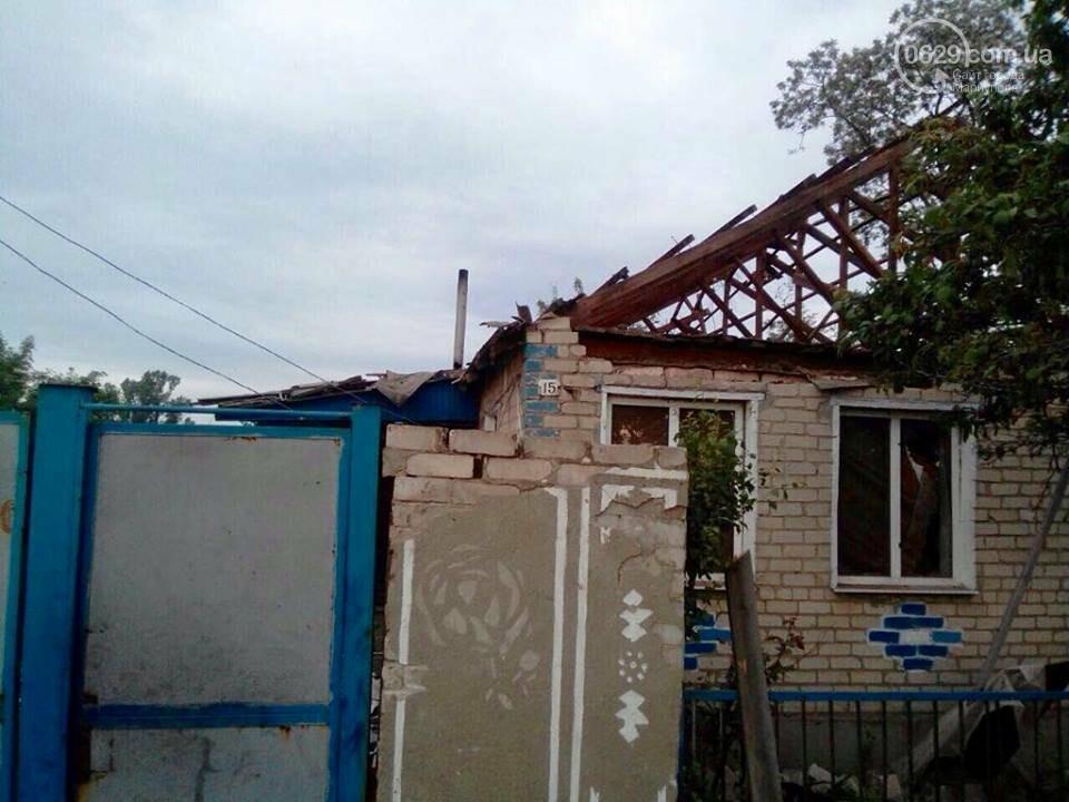 Во время обстрела поселка на Донбассе погибли 13-летний мальчик и его отец, - ФОТО, фото-2
