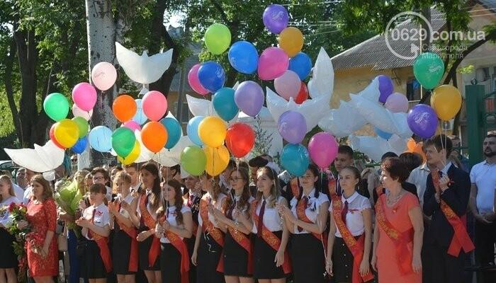 """В мариупольских  школах отзвучали """"последние звонки"""", - ФОТО, ВИДЕО, фото-18"""