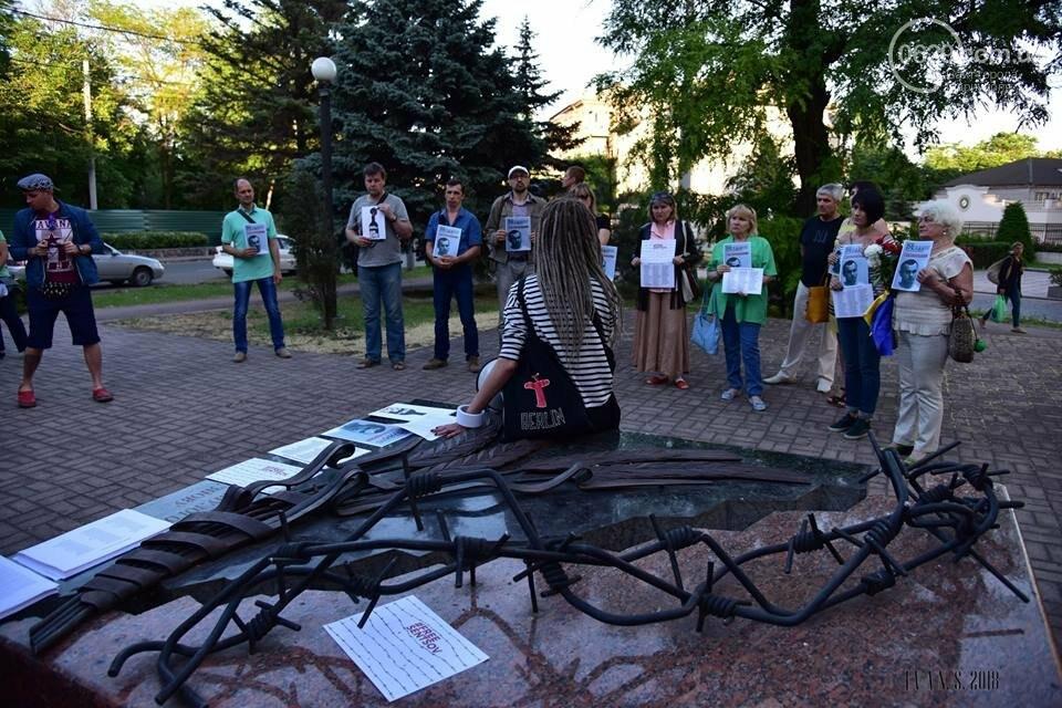 Мариупольцы поддержали заключенного Олега Сенцова (ФОТО), фото-9