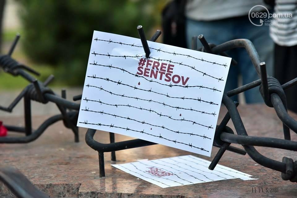 Мариупольцы поддержали заключенного Олега Сенцова (ФОТО), фото-4