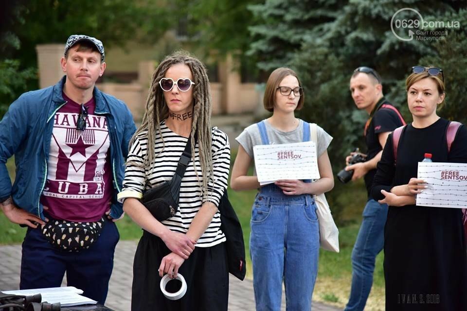 Мариупольцы поддержали заключенного Олега Сенцова (ФОТО), фото-6