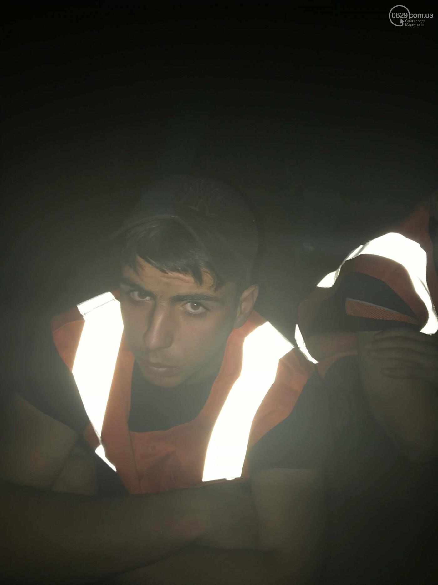 В Мариуполе сотрудники охранного предприятия задержали воров при попытке разобрать железнодорожное полотно, - ФОТО, фото-8