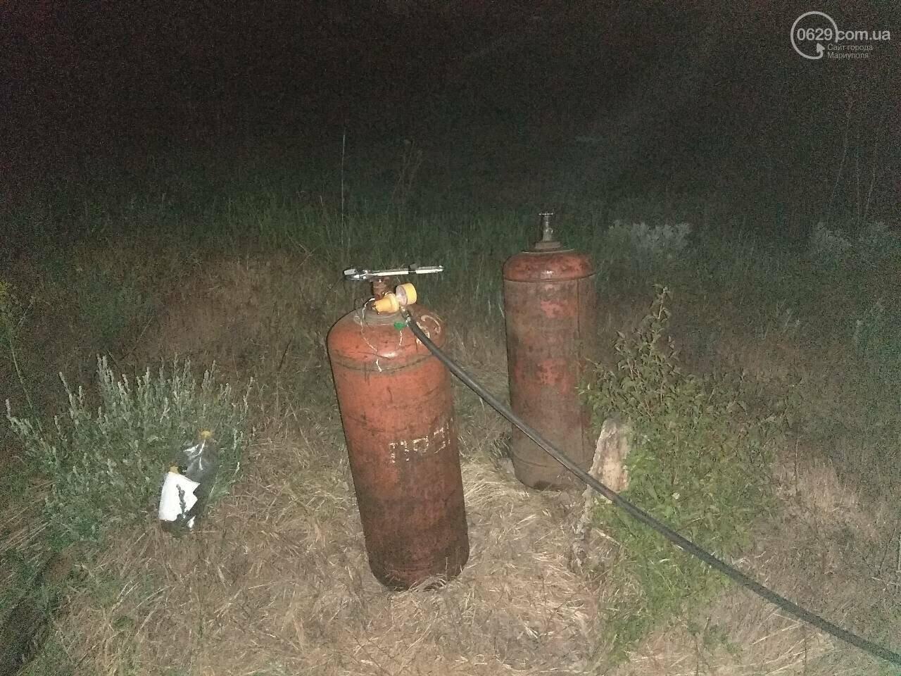 В Мариуполе сотрудники охранного предприятия задержали воров при попытке разобрать железнодорожное полотно, - ФОТО, фото-10