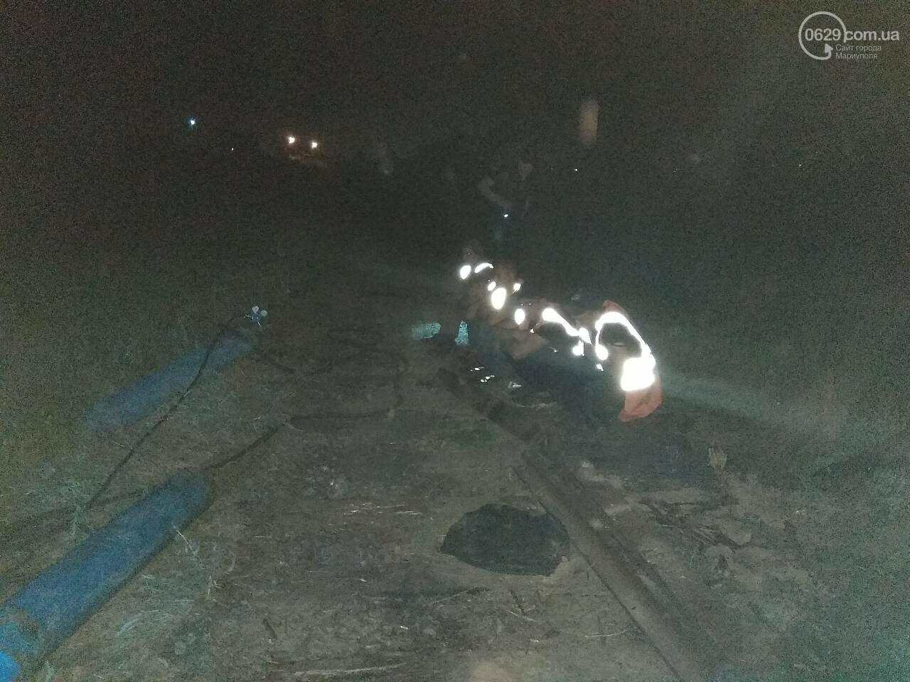 В Мариуполе сотрудники охранного предприятия задержали воров при попытке разобрать железнодорожное полотно, - ФОТО, фото-3