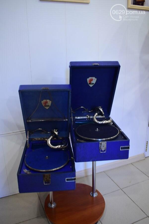 В Мариуполе можно увидеть коллекцию старинных граммофонов, фото-6