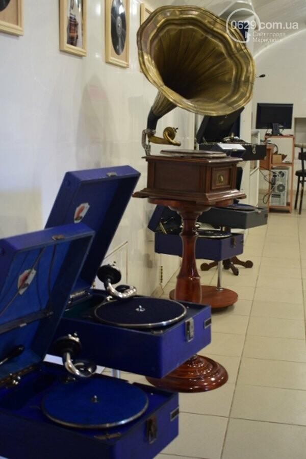 В Мариуполе можно увидеть коллекцию старинных граммофонов, фото-3