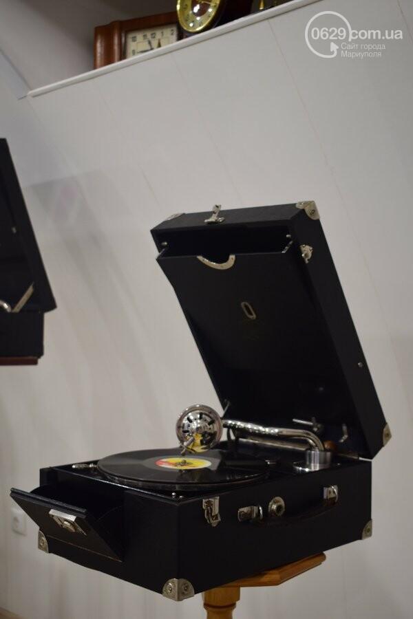В Мариуполе можно увидеть коллекцию старинных граммофонов, фото-7