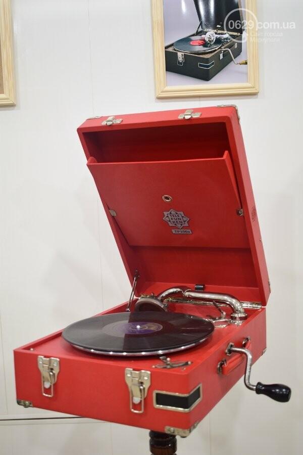 В Мариуполе можно увидеть коллекцию старинных граммофонов, фото-8
