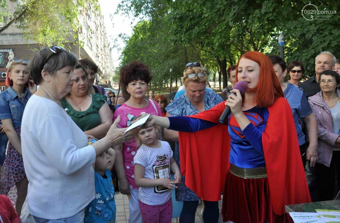 В аптеке «Азовфарм» провели праздник для детей и разыграли призы, фото-30