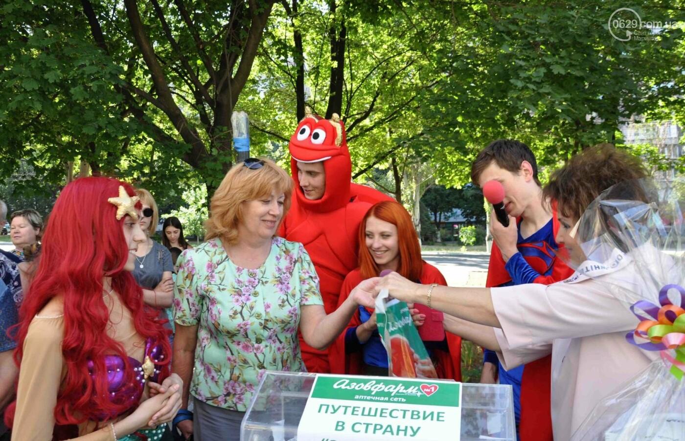 В аптеке «Азовфарм» провели праздник для детей и разыграли призы, фото-34