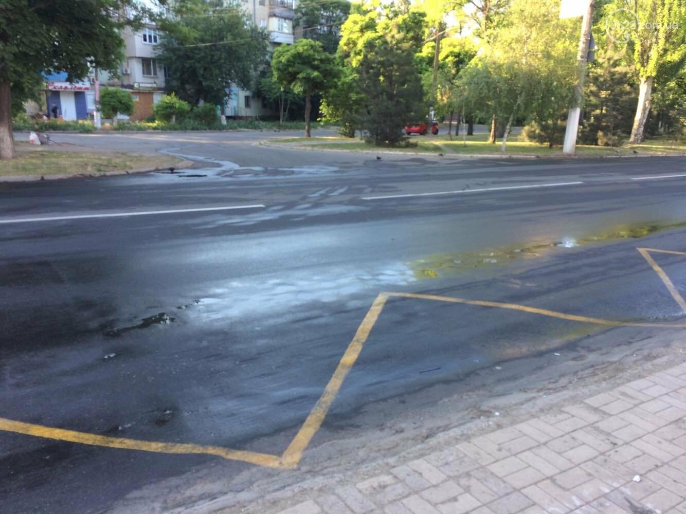 В Мариуполе  поливают центральные улицы, - ФОТО, фото-1