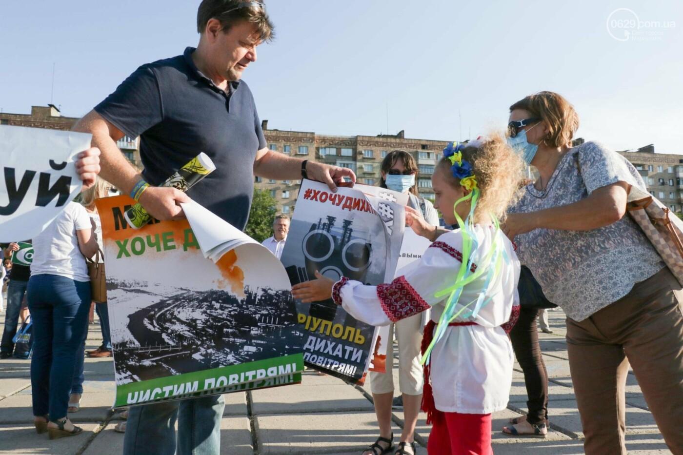Экологический флешмоб: мариупольцы заявили, что хотят дышать,- ФОТО, ВИДЕО, фото-19