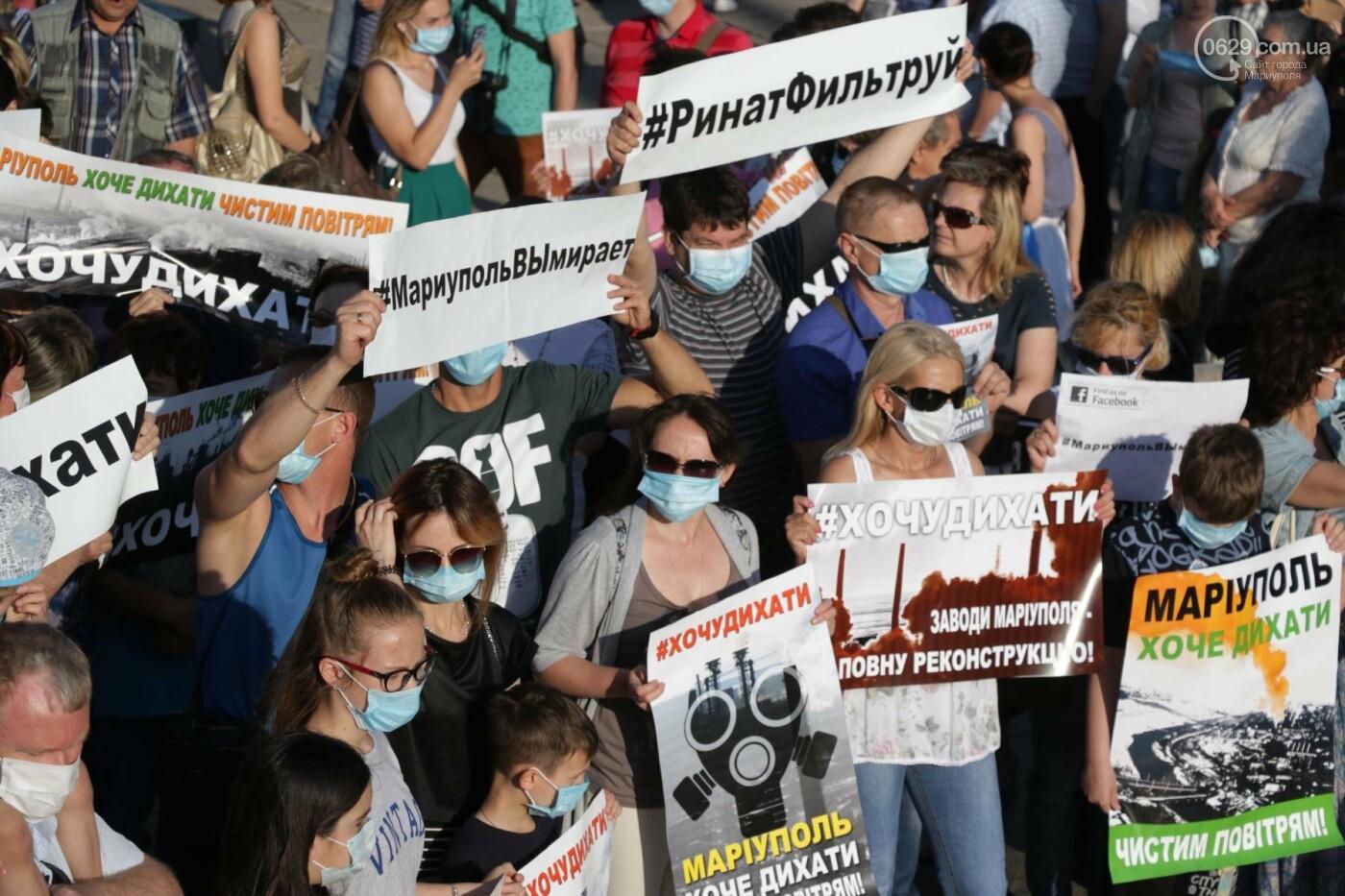Экологический флешмоб: мариупольцы заявили, что хотят дышать,- ФОТО, ВИДЕО, фото-16
