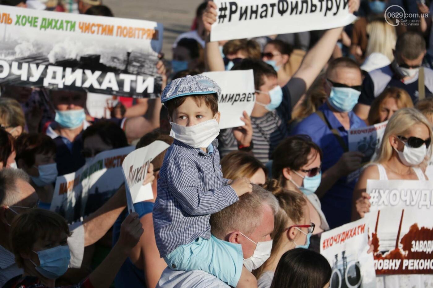 Экологический флешмоб: мариупольцы заявили, что хотят дышать,- ФОТО, ВИДЕО, фото-13