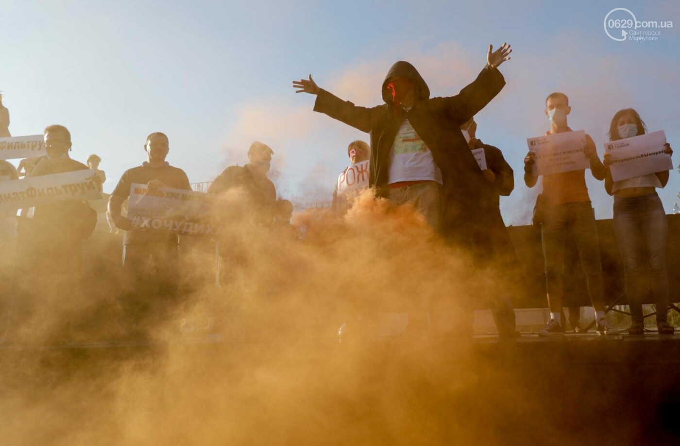 Экологический флешмоб: мариупольцы заявили, что хотят дышать,- ФОТО, ВИДЕО, фото-6