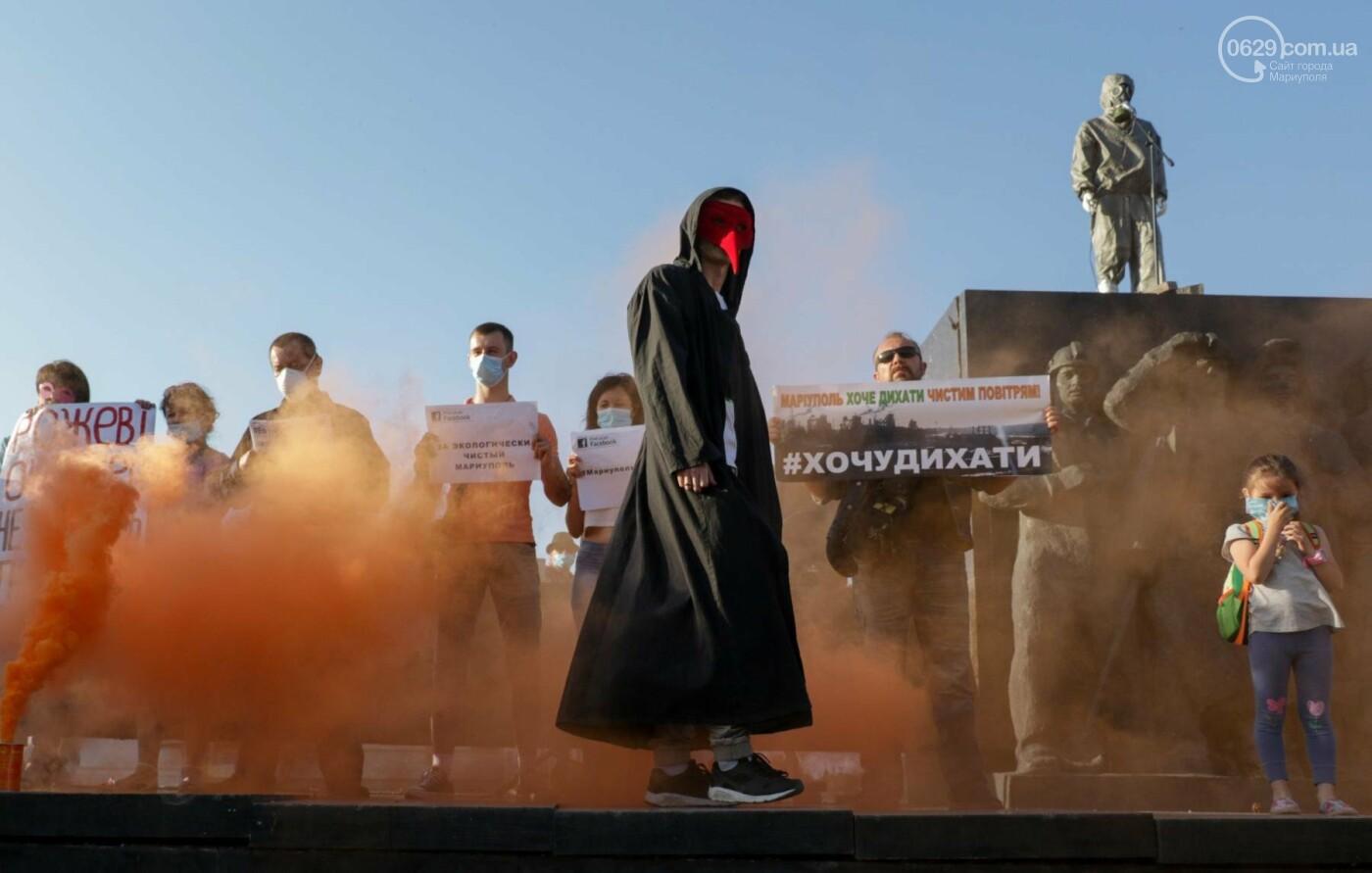Экологический флешмоб: мариупольцы заявили, что хотят дышать,- ФОТО, ВИДЕО, фото-4
