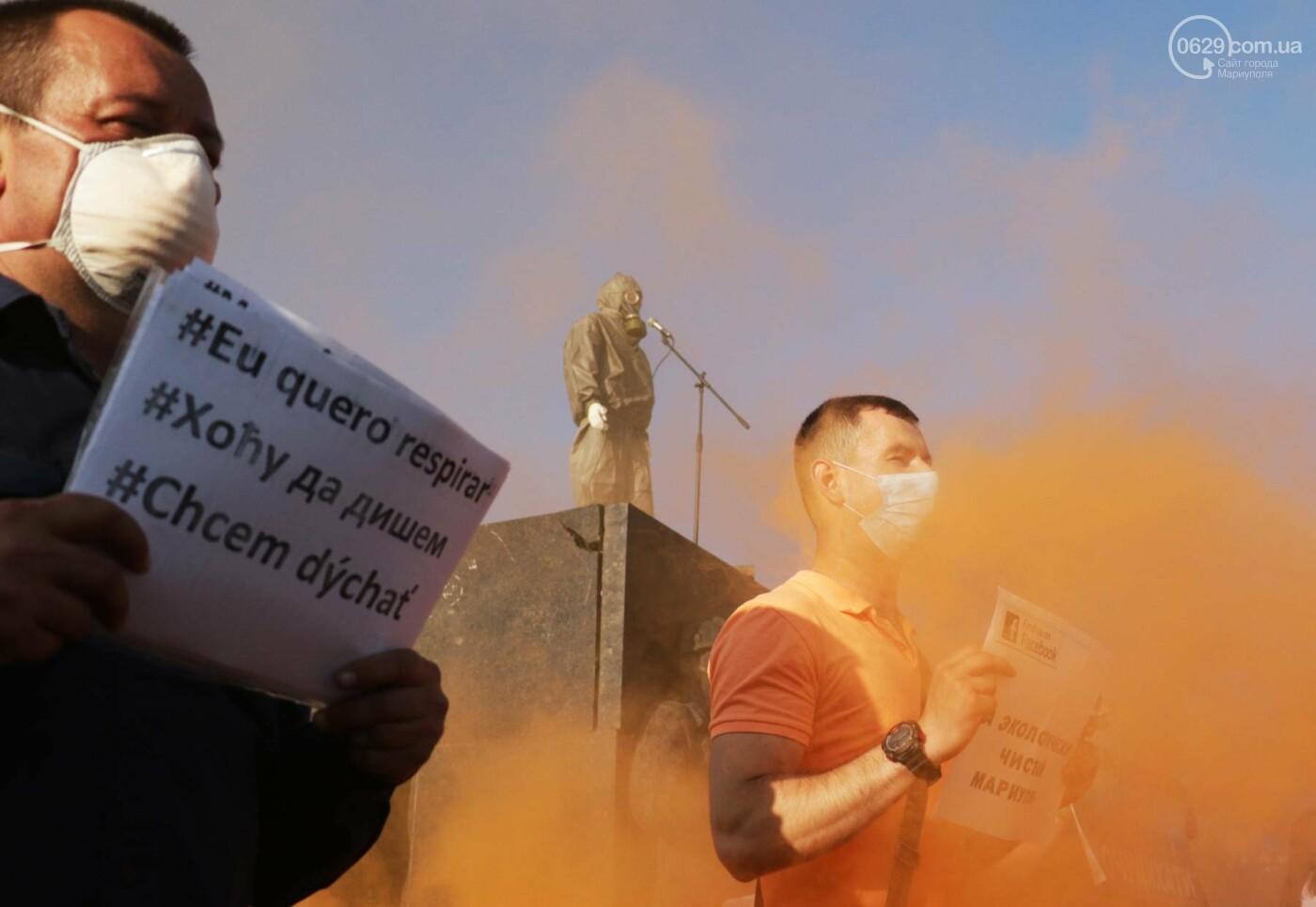 Экологический флешмоб: мариупольцы заявили, что хотят дышать,- ФОТО, ВИДЕО, фото-3