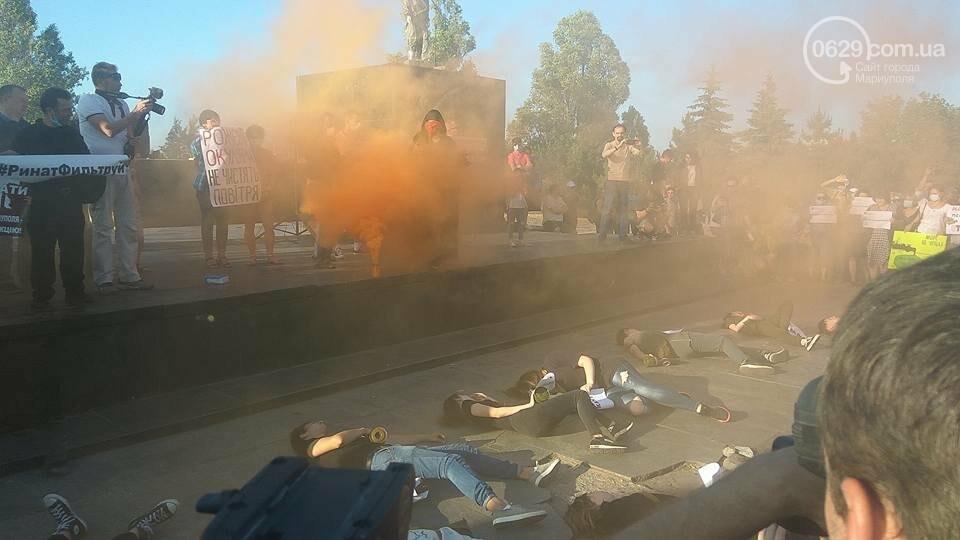 Экологический флешмоб: мариупольцы заявили, что хотят дышать,- ФОТО, ВИДЕО, фото-1