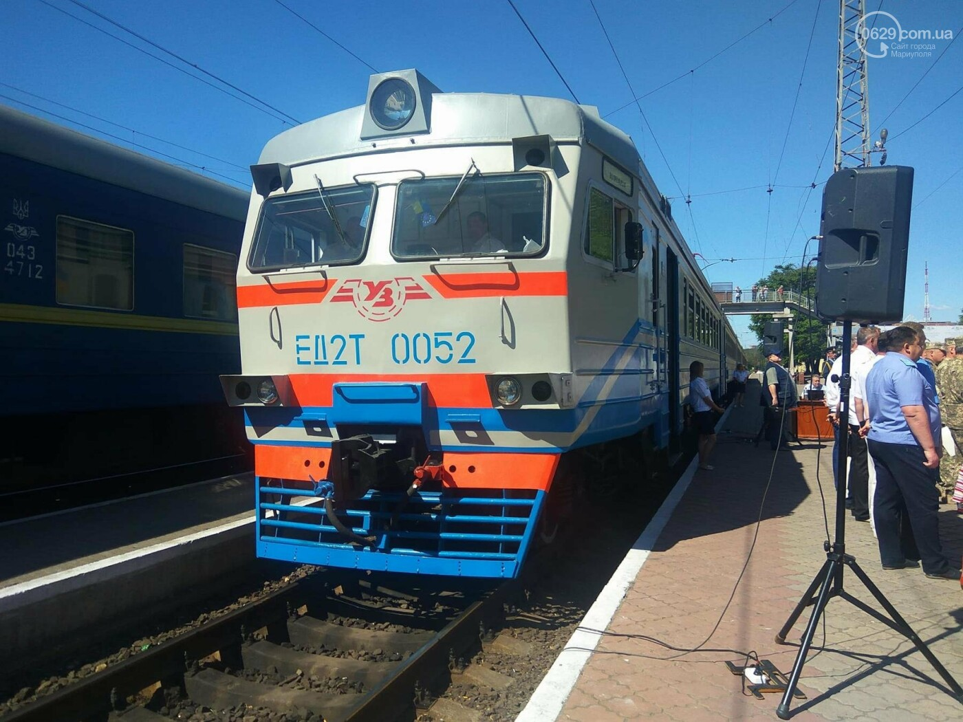 Из Мариуполя в Волноваху запустили пригородные электрички, - ФОТО, ВИДЕО, фото-4